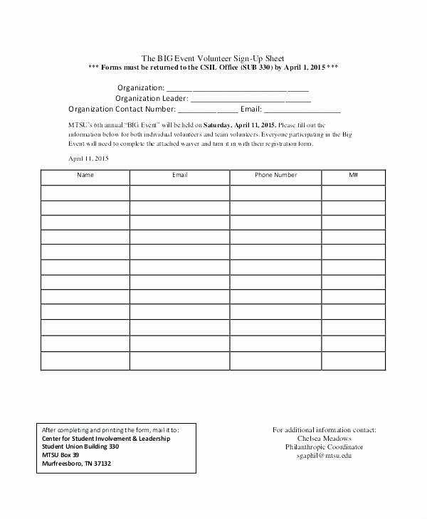 Blank Sign Up Sheet Template Best Of Simple Sign Up Sheet Template Colorful Sign Up Sheet