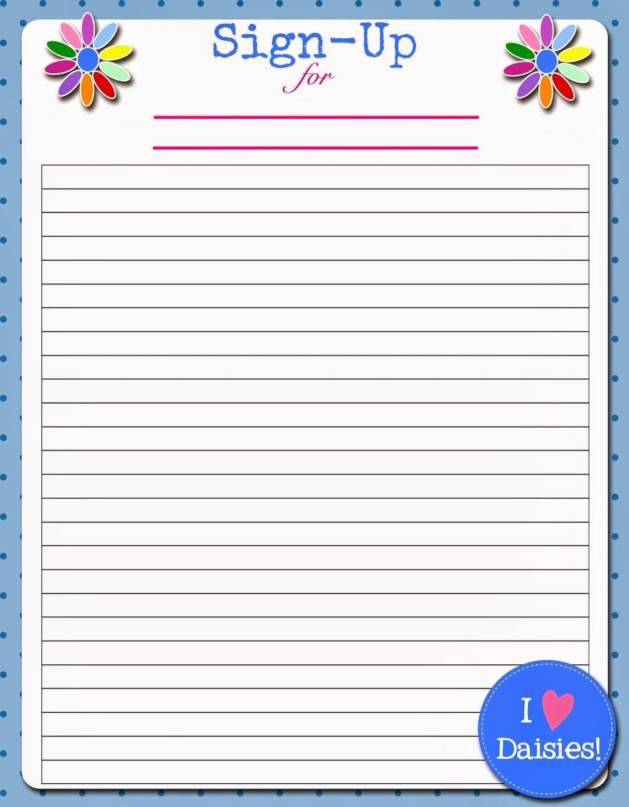 Blank Sign Up Sheet Template Elegant Potluck Sign Up Sheet Word for events