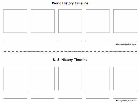 Blank Timeline Template 10 events Awesome 47 Blank Timeline Templates Psd Doc Pdf