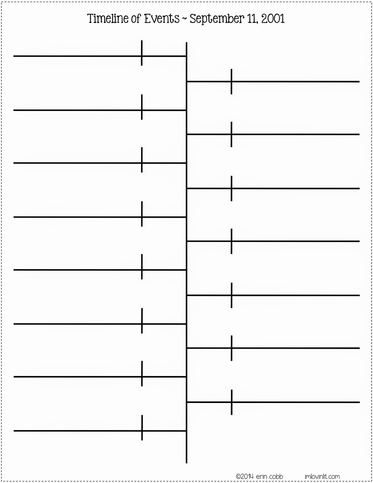 Blank Timeline Template 10 events Best Of Best S Of Fill In Timeline Template Printable Blank