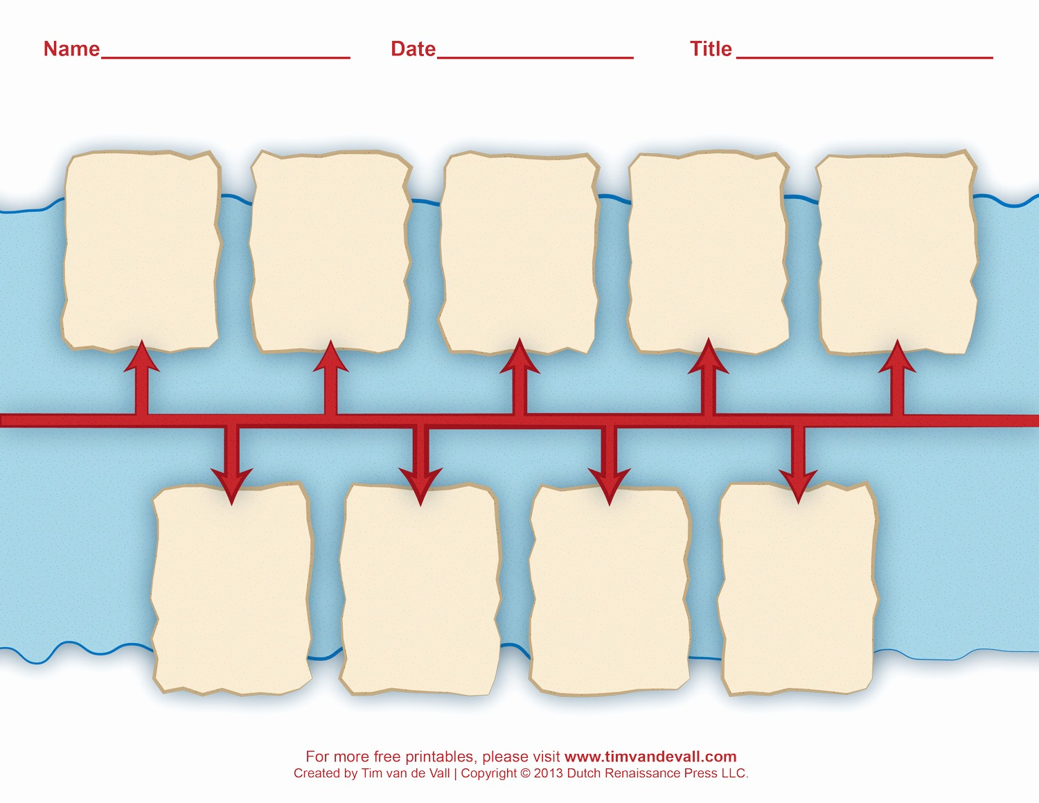 Blank Timeline Template 10 events Best Of Printable History Timeline Worksheets for Classrooms