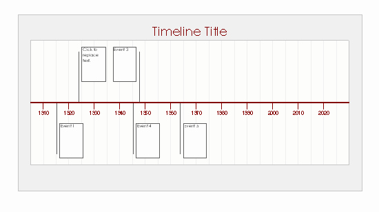 Blank Timeline Template 10 events Best Of Timelines Fice