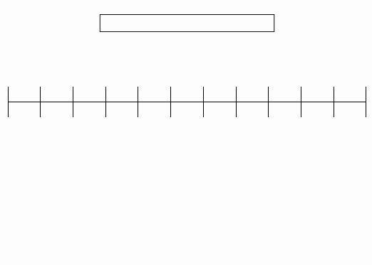 Blank Timeline Template 10 events Elegant Timeline Templateshistory Timeline Notebook Template Pdf