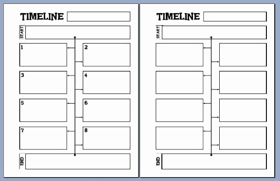 Blank Timeline Template 10 events Fresh Layout Template Free Timeline 2 Download for Word