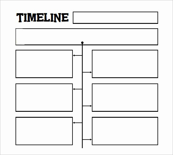 Blank Timeline Template 10 events Lovely 10 Timeline Templates for Kids – Samples Examples