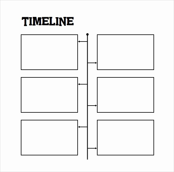 Blank Timeline Template 10 events Lovely Timeline Template for Student 9 Download Free Documents