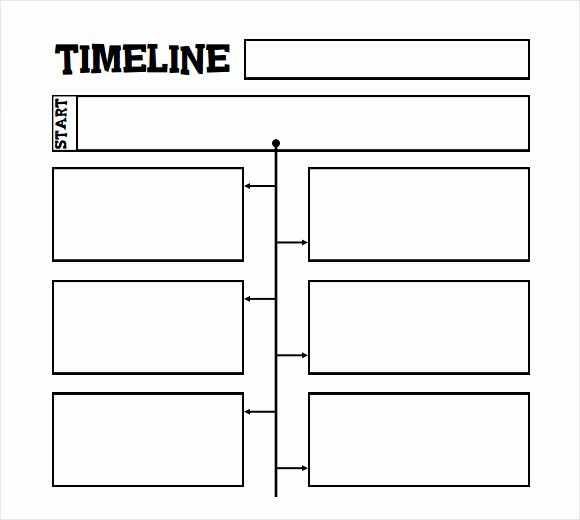 Blank Timeline Template 10 events Unique Timeline Template for Kids 6 Download Free Documents In