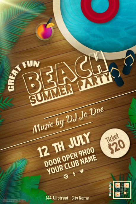Block Party Flyer Templates Free Beautiful How to Throw A Block Party Printable Invitation Template