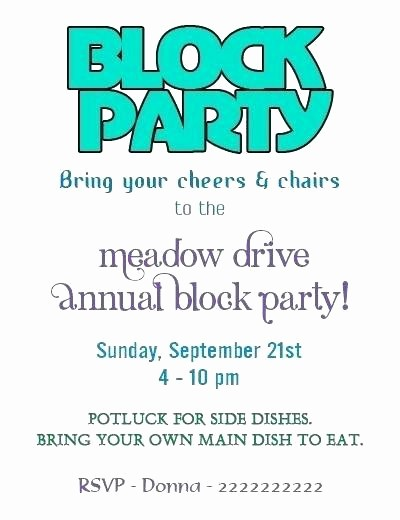 block party invitation flyers templates lovely invitations neighborhood template free neighbourhood