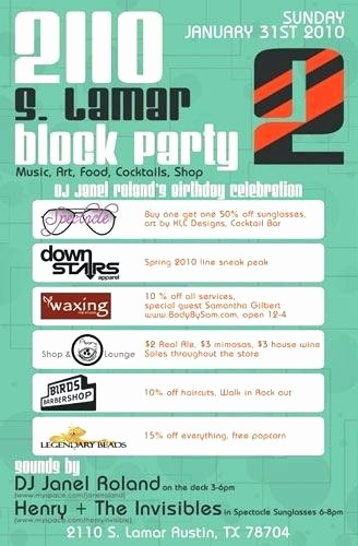 Block Party Flyer Templates Free Best Of Free Block Party Flyer Template Neighborhood Clip Art