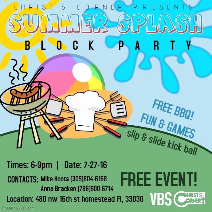 Block Party Flyer Templates Free Elegant Block Party Flyer Templates