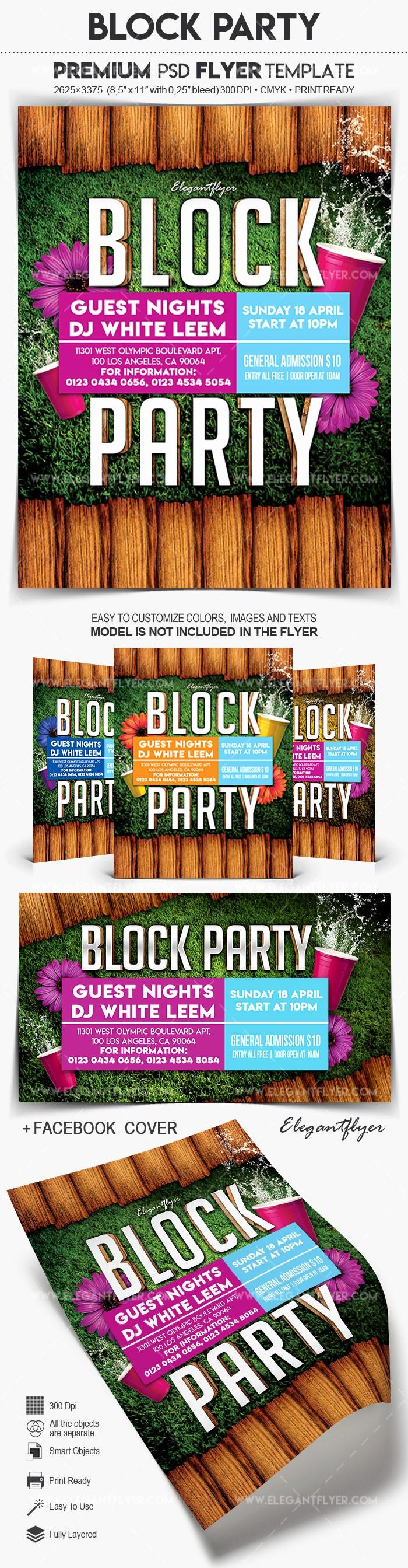 Block Party Flyer Templates Free Fresh Block Party – Flyer Psd Template – by Elegantflyer
