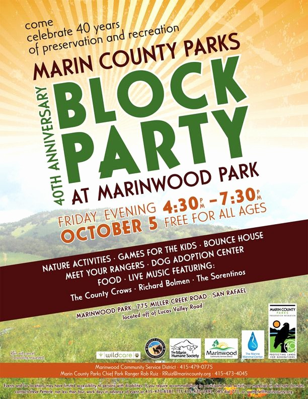 Block Party Flyer Templates Free Inspirational Project Coyote events Munity Block Party