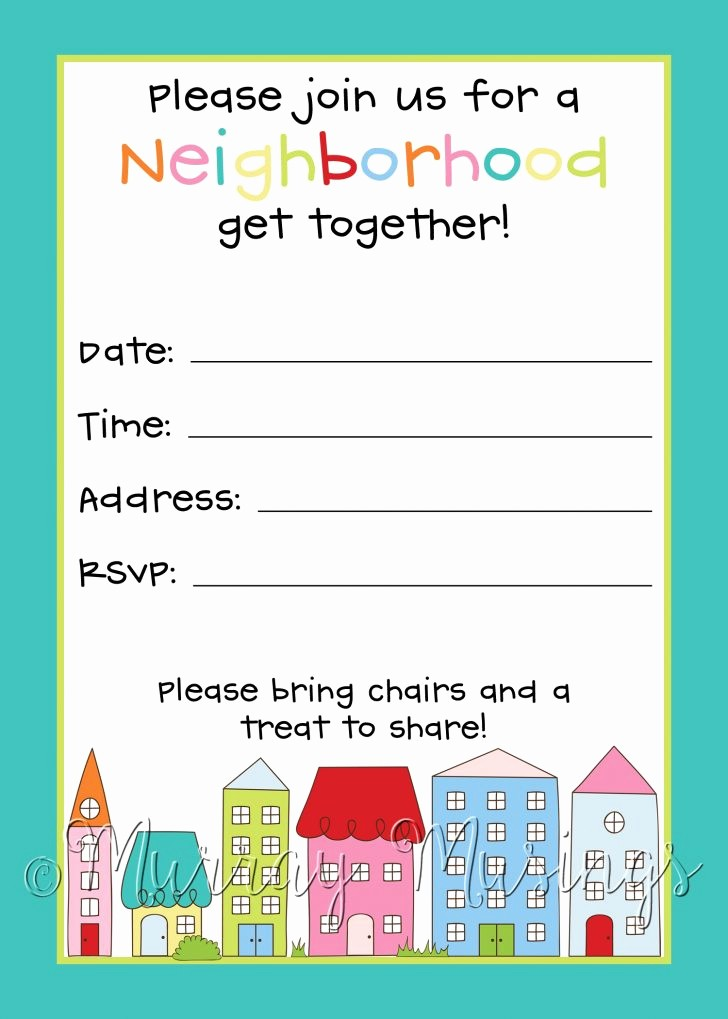 Block Party Flyer Templates Free Lovely Free Printable Flyer Templates Invitation Templates