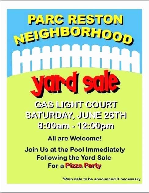 Block Party Flyer Templates Free Unique Neighborhood Block Party Flyer Template Free Yard Sale