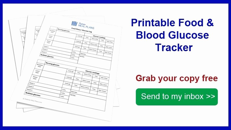 Blood Pressure and Glucose Tracker Best Of Food and Blood Glucose Tracker [printable]