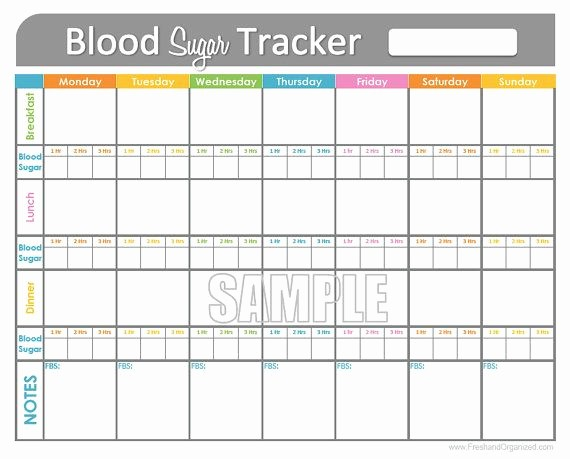 Blood Pressure and Glucose Tracker Inspirational Blood Sugar Tracker Printable for Health Medical