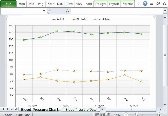Blood Pressure Log Excel Template Elegant Free Blood Pressure Tracker Template for Excel