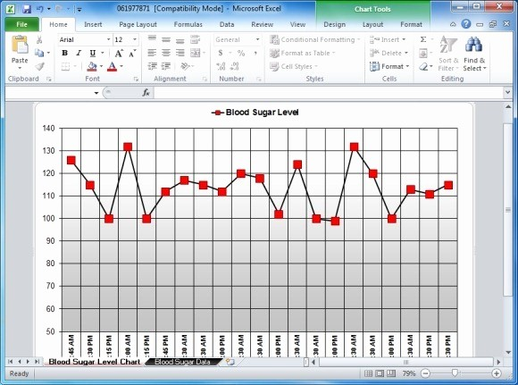 Blood Pressure Log Excel Template Inspirational Blood Sugar Tracker Template for Excel