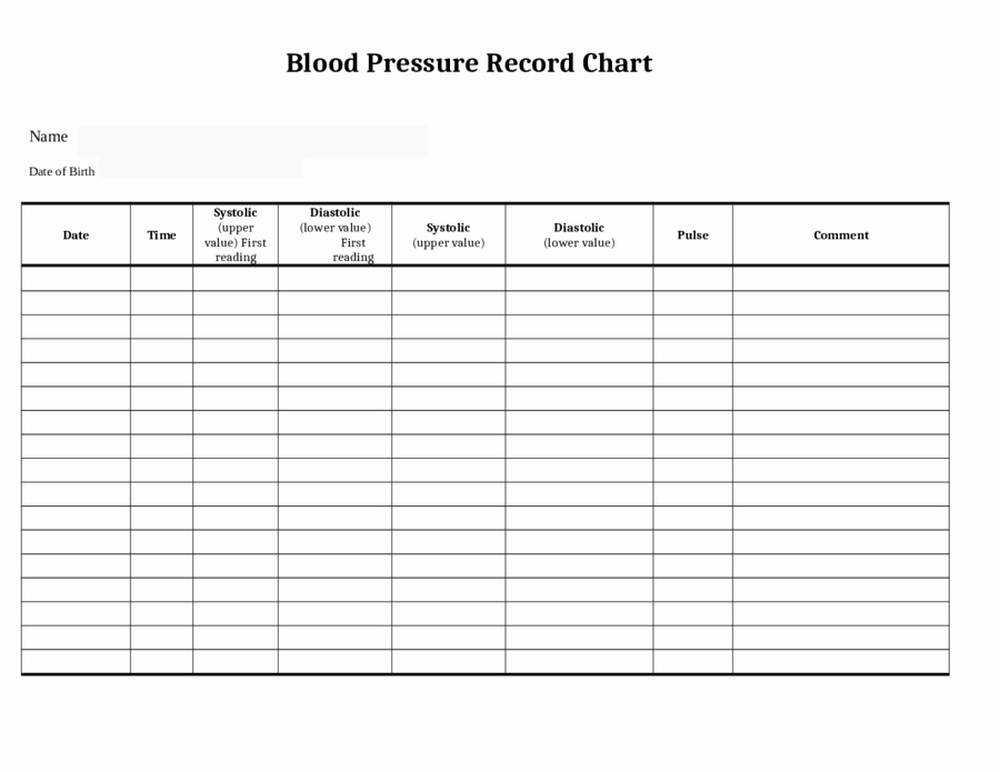Blood Pressure Log Print Out Beautiful Blood Pressure Record Chart Uk Blood Pressure Log