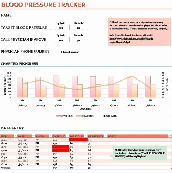 Blood Pressure Log Print Out Lovely 27 Best Images About Daily Medical forms On Pinterest