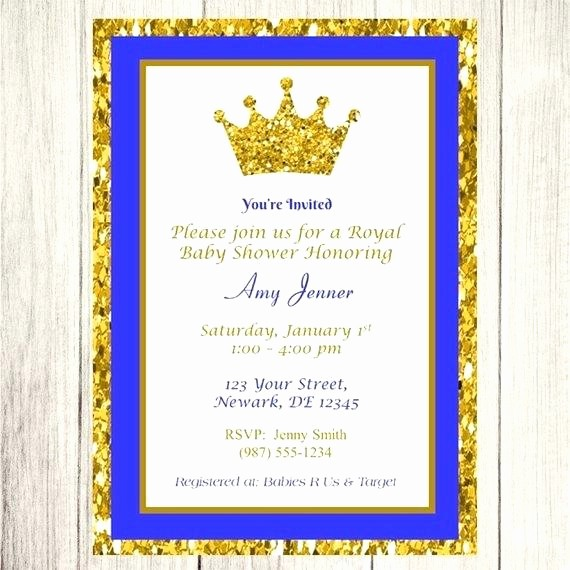 Blue and Gold Invitation Template Best Of Royal Blue and Gold Invitations S Wedding Invitation