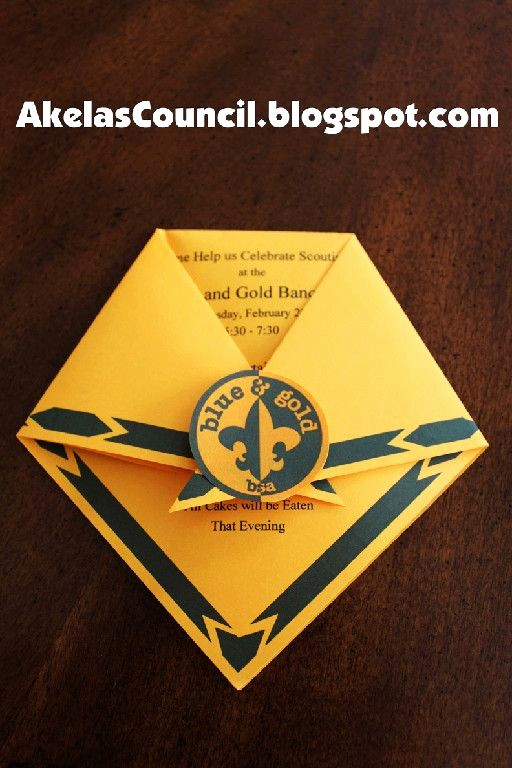 Blue and Gold Invitation Template Elegant Cub Scouts Blue Gold Banquet Ideas Pinterest