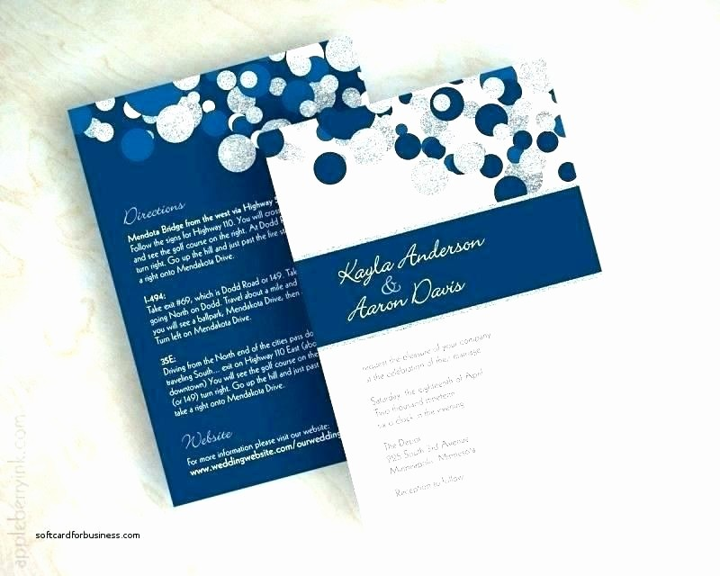 Blue and Gold Invitation Template Fresh Royal Blue Wedding Invitations and Silver Invitation