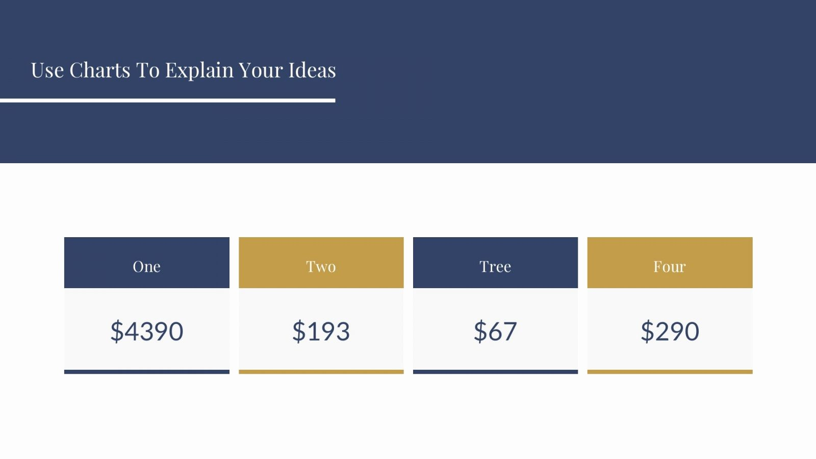 Blue and Gold Powerpoint Template Beautiful Blue and Gold Elegance Free Powerpoint Template
