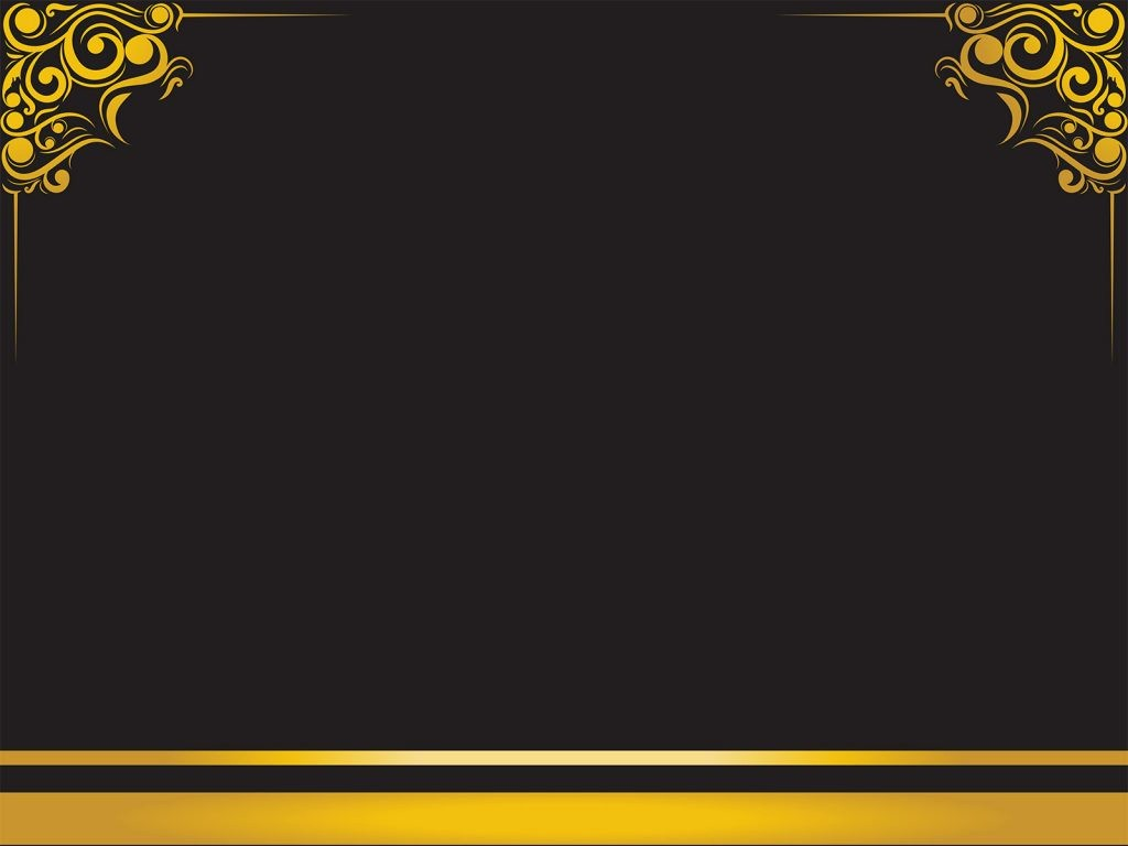 Blue and Gold Powerpoint Template Fresh Luxury Frame Backgrounds