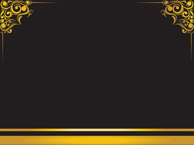 Blue and Gold Powerpoint Template Lovely Luxury Frame Backgrounds