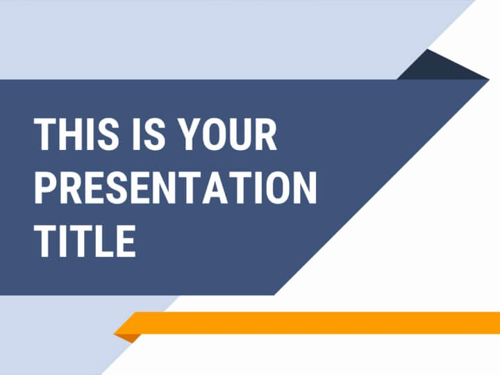 Blue and Gold Powerpoint Template New Free Pro Powerpoint Template or Google Slides theme for