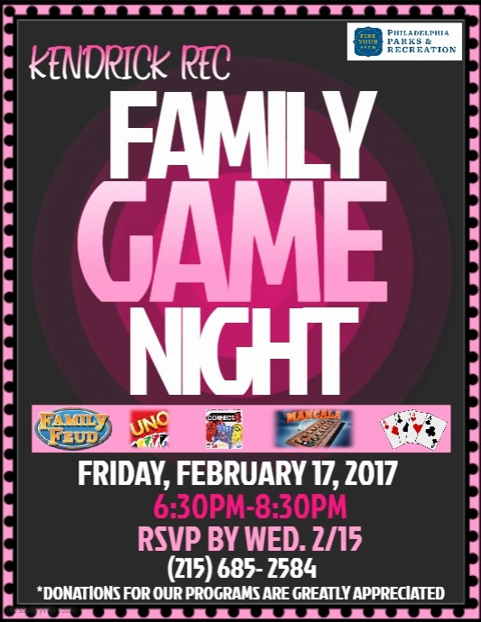Board Game Night Flyer Template Awesome Game Night Flyer Coastal Flyers