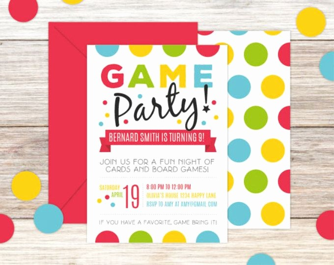 Board Game Night Flyer Template Beautiful Game Night Poster Fun Dice Template Church School