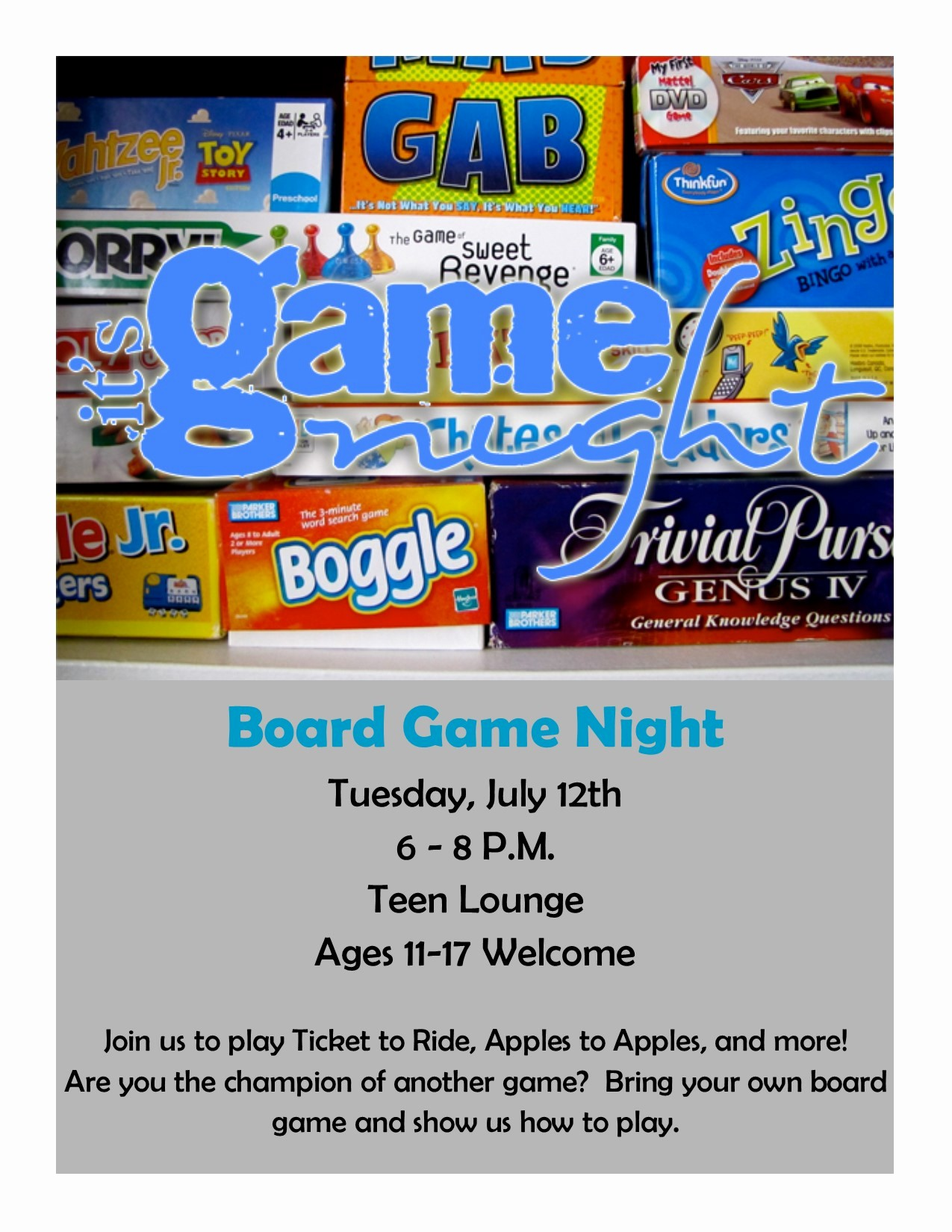 Board Game Night Flyer Template Best Of Board Game Night