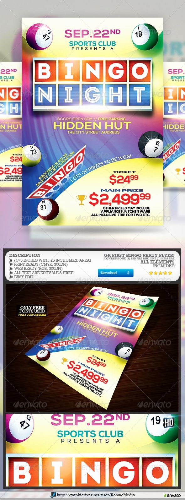 Board Game Night Flyer Template Elegant 17 Best Images About Bingo On Pinterest