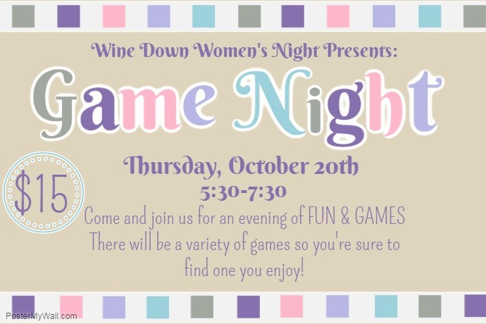 Board Game Night Flyer Template Fresh Game Night Flyer Template