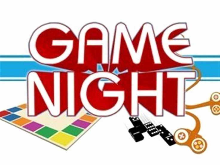 Board Game Night Flyer Template Fresh Senior Church Night Templates