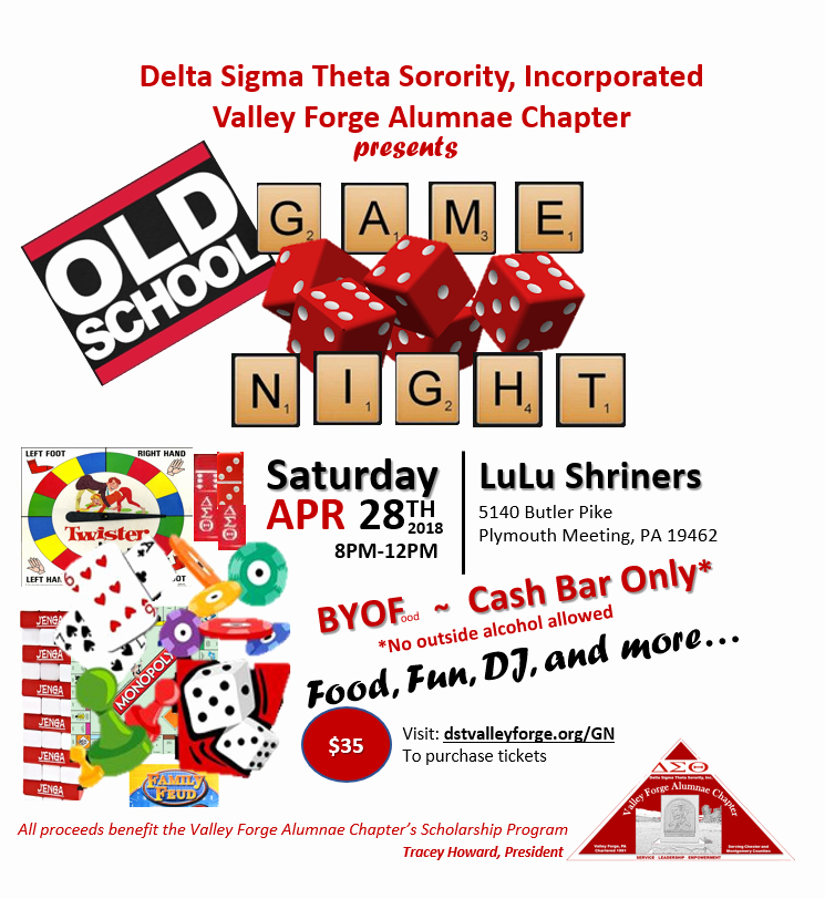 Board Game Night Flyer Template Lovely Delta's Old School Game Night