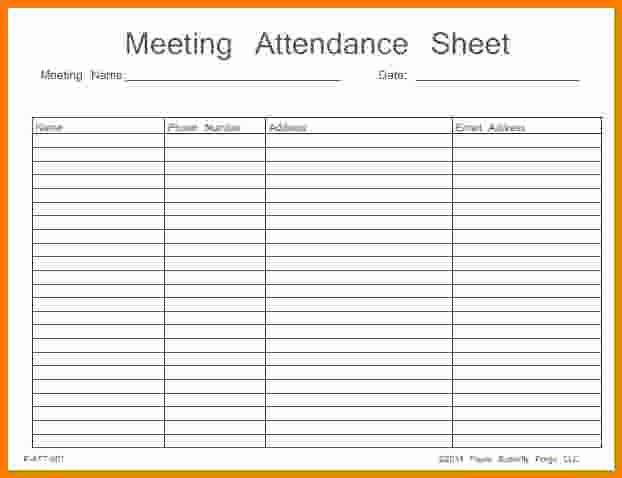 Board Meeting attendance Sheet Template Best Of Aa attendance Card to Pin On Pinterest Pinsdaddy