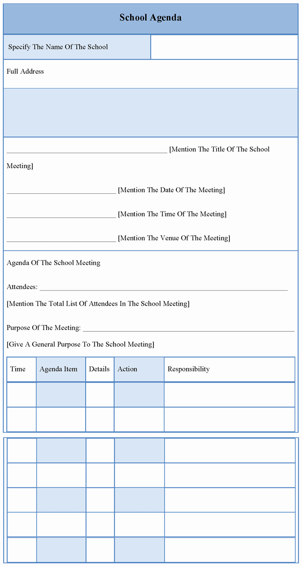 Booster Club Meeting Minutes Template Fresh 10 Best Of School Meeting Minutes Template Free