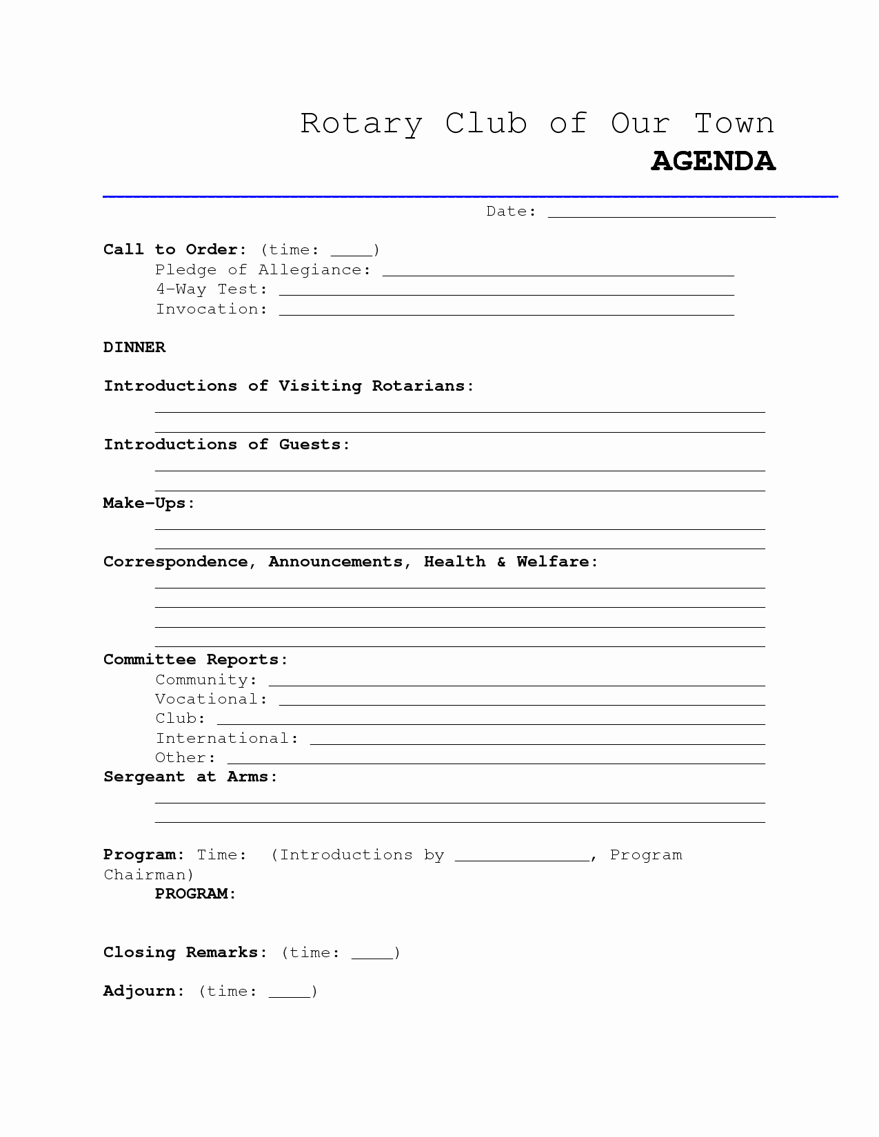 Booster Club Meeting Minutes Template Lovely 9 Best Of Club Meeting Minutes Template Sample