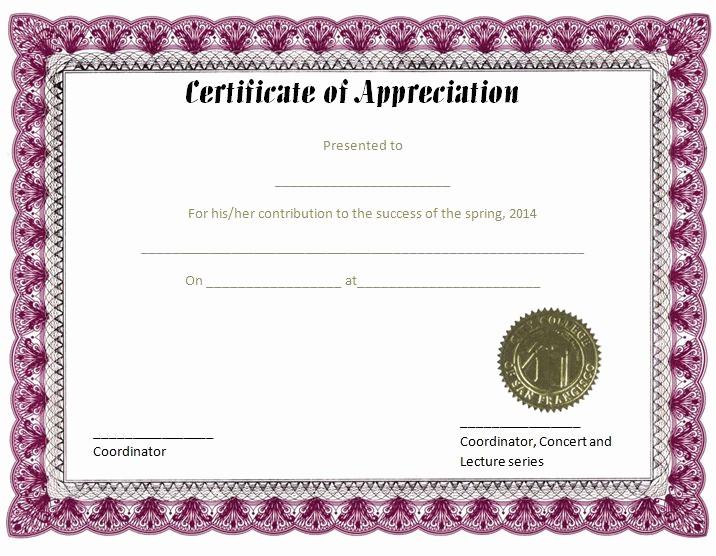 Border for Certificate Of Appreciation Beautiful 37 Best Images About Certificate Of Appreciation Templates