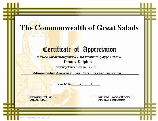 Border for Certificate Of Appreciation Beautiful A Printable Certificate Of Appreciation with A Basketweave