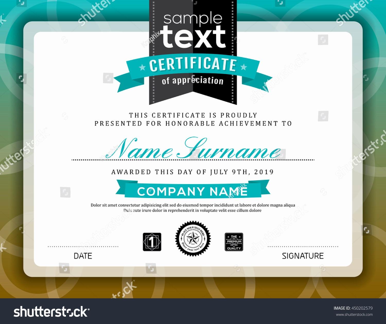 Border for Certificate Of Appreciation Fresh Simple Certificate Appreciation Border Background Frame