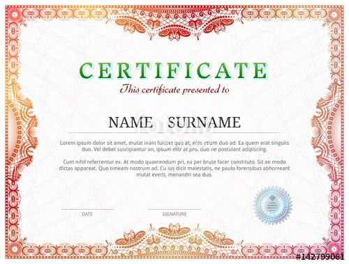 Border for Certificate Of Appreciation Inspirational Blank Certificates