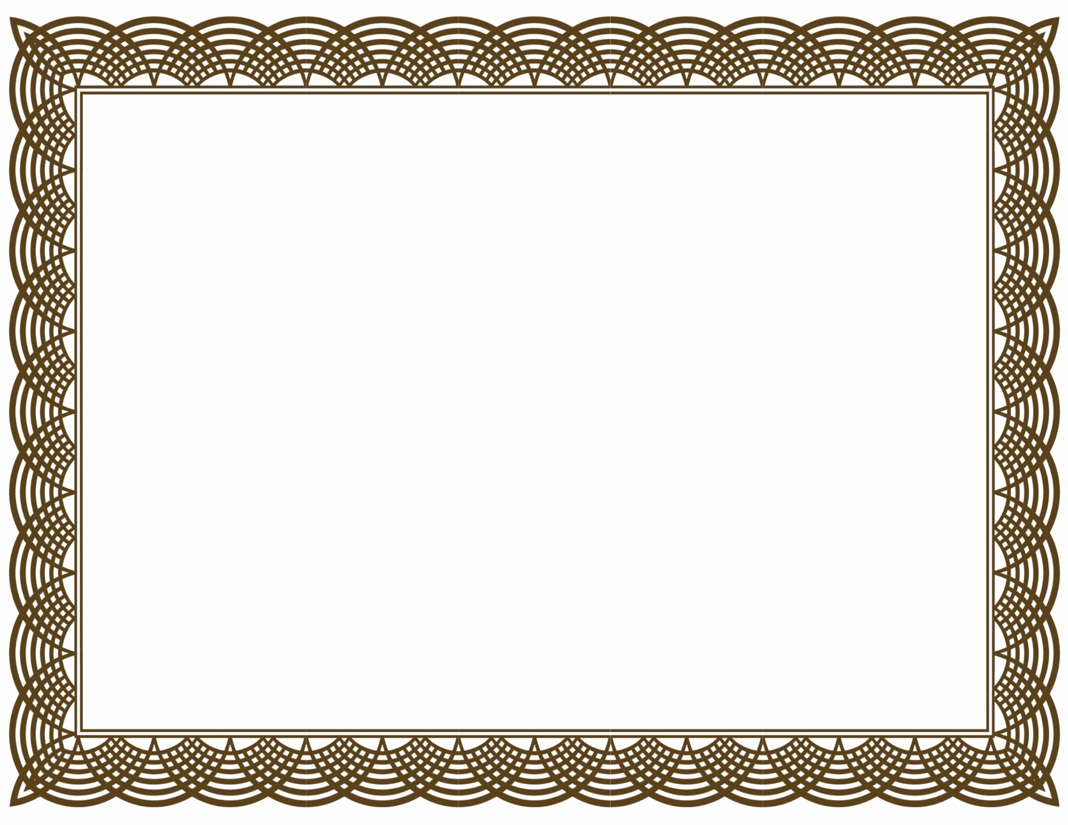 Border for Certificate Of Appreciation Lovely 20 Printable Certificate Borders