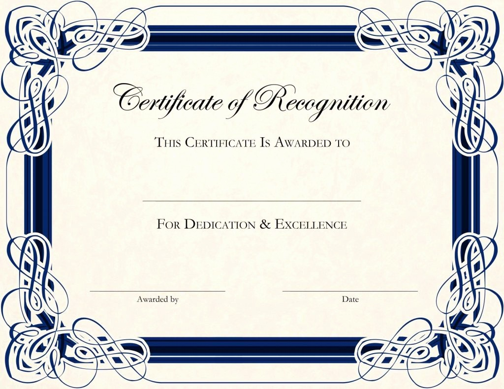 Border for Certificate Of Appreciation Lovely Certificate Appreciation Borders Template Update234
