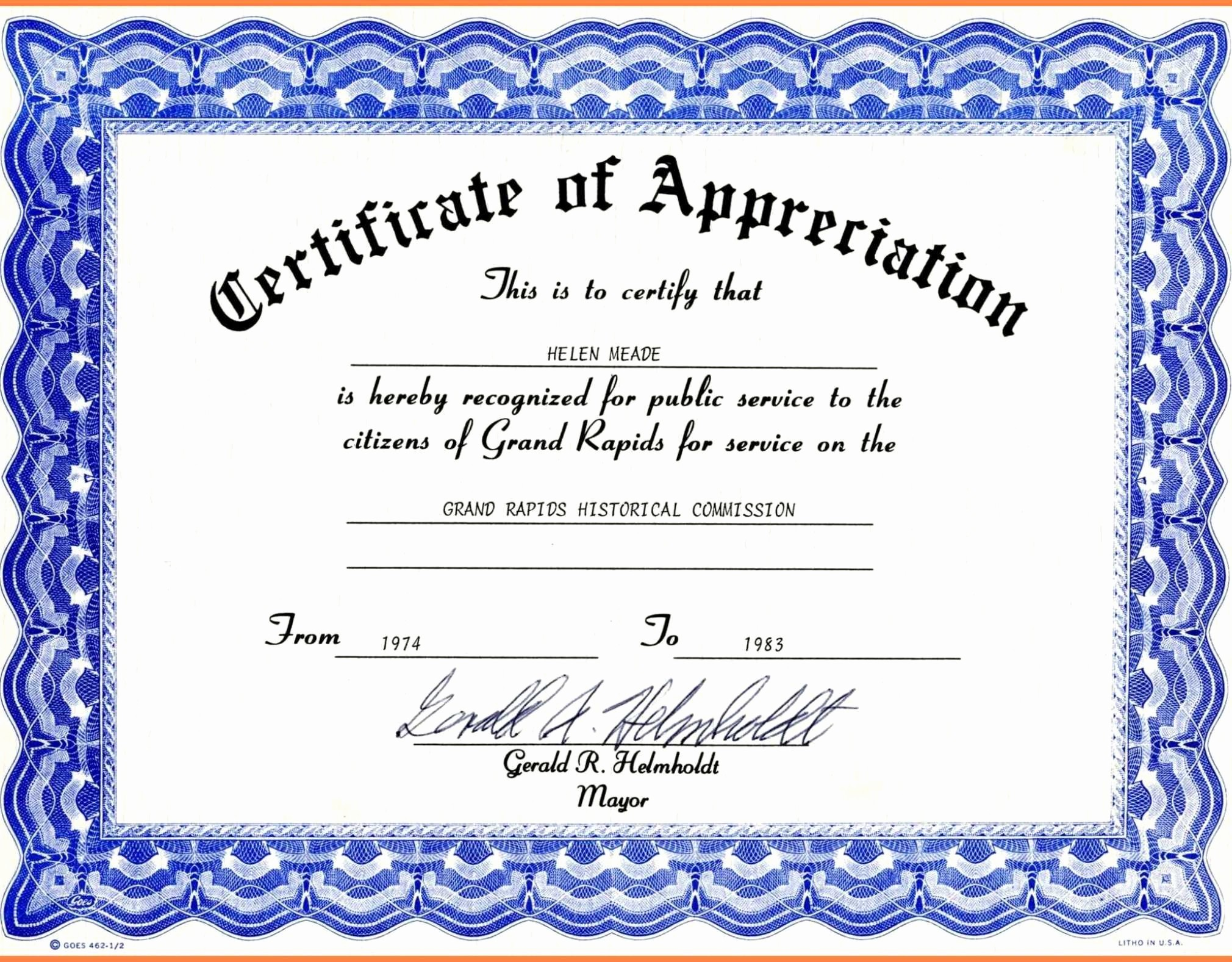 Border for Certificate Of Appreciation Lovely Resume Responsibilities Sample Borders for Certificate