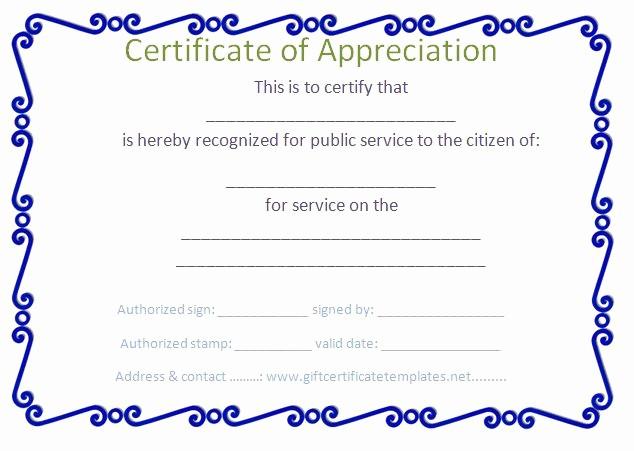 Border for Certificate Of Appreciation Unique 37 Best Images About Certificate Of Appreciation Templates